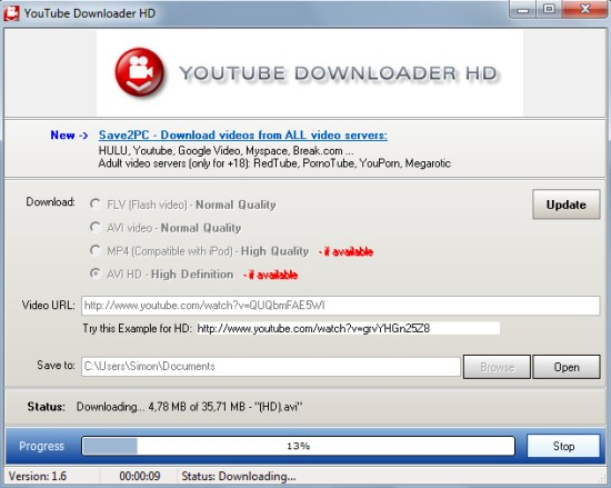 How To Easily Download YouTube High Definition Videos | techt20
